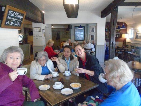 Tea at Squires-Garden-Centre